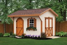 Sheds / Weaver Barns builds beautiful, Amish quality sheds. Take a look at some of our many different styles of sheds.