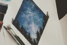 Journal night sky