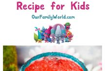 DreamWorks Trolls Party Ideas / Trolls Party Ideas! These fun Trolls Party ideas include Trolls food recipes, Dreamworks Trolls Crafts and more.