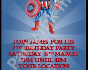 Party Invitations / Invitations for all occasions.