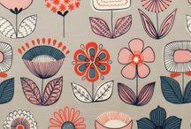 Folk florals