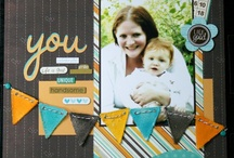 Scrapbooking inspiration / Scrapbooking pages to give me inspiration.