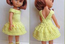 habits poupées crochet et tricot