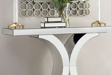 Decorating a Console Table