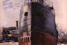 Industrial Artwork / Factories / Railways / Ship Yards