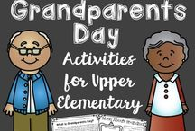 Grandparents Day / Ideas and inspiration for grandparents day at school .