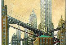 desenho de cidades