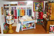 My doll s craft room ideas / by Sharon Osborn