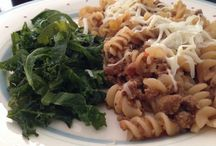 Family meals / Gluten free, dairy free, nightshade free cooking