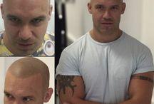 Micro pigmentation tattoo for men