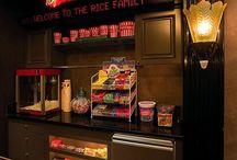 Movie room remodel