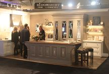 Interior Design Show 2014 / Our booth with Bloomsbury Fine Cabinetry at IDS 2014.