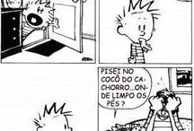 Calvin... quadrinhos