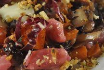 Piatti Vegetariani - Vegetarian Food / Piatti vegetariani, ricchi di sapore, di colore e di bontà