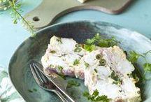 poisson, fruits de mer, escargots, grnouilles