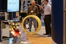 Trade Shows / Customers sent in these photos of our pedestals being used at trade shows.  / by Xylem Design /Pedestal Source