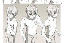 boy body poses