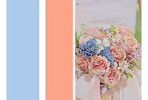 Wedding Colour schemes / Different color schemes I like for weddings am in love with plum and autumn colours atm