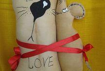...cinnamon... / Tilda Cinnamon Dolls Cats Gift
