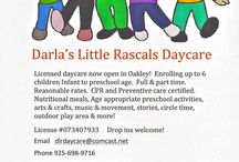Darla's Little Rascals Daycare / by Darla Kaiser Moore