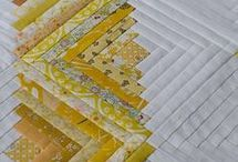 Quilts----Yellow and White