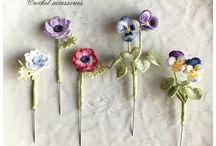 Fiorellino uncinetto