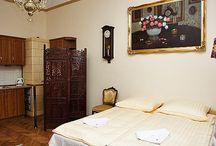Apartament Kraków Lwowski II / zdjęcia, opisy, cennik apartamentu Lwowskiego II mieszczącego się w zabytkowej dzielnicy Kazimierz.