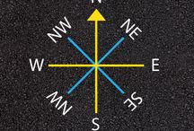 Compasses / Playground compasses for geography learning