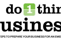 Do 1 Thing Business / Do 1 Thing has developed a 12 month program to help you get your business ready by taking a small step each month. Unlike our usual program, it is important that businesses start at month one, and go in order as each month builds on the last month. We highly encourage businesses to take advantage of this program that we have spent a long time on.  http://do1thing.com/topics/risk