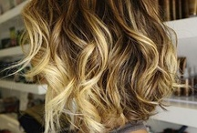 Hair ideas / Love the curls. And as for the color... not all of my hair but added nicely into my hair. / by Christina Hedrick