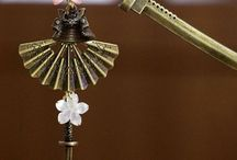 Kanzashi and Chinese Hairpin