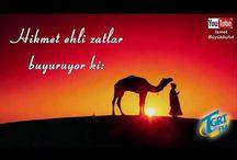 (İSLAMİ)HİKMET EHLİ ZATLAR BUYURUYOR Kİ!