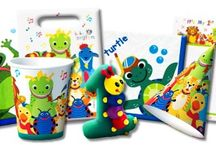 Baby Einstein Birthday Party Ideas, Decorations, and Supplies / Baby Einstein Party Supplies from www.HardToFindPartySupplies.com, where we specialize in rare, discontinued, and hard to find party supplies. We also carry several of the more recent party lines.  / by Hard To Find Party Supplies