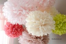 Paper & Fabric Flower Obsession / Yep, I'm currently obsessed with them!