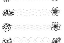 Çalışma Sayfaları - Çizgi Çalışmaları