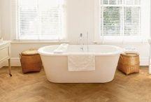 Venyl gulv badeværelse