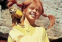 Pippi Longstocking / Her real name Karin Inger Monica Nilsson (born 4 May 1959 in Kisa) is a Swedish actress and singer. Inger Nilsson was a former child actress. She played as Pippi Longstocking in movies.