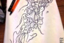 jellyfish tattoos