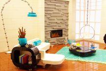 Lego Modern Room