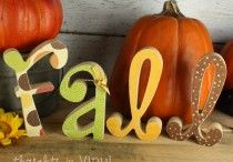 Fall crafts / by AdriAnne Buller