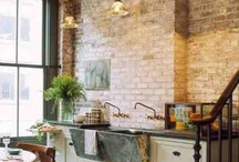 Exposed Brick Wall in Rooms