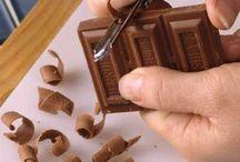 шоколад и глазурь