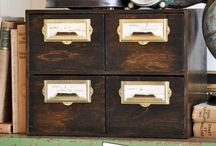 Decor:Storage & Jewelry Boxes / Small storage boxes used for multiple purposes like jewelry storage, trinket storage, and remote control storage to name a few.  / by The Interior Frugalista