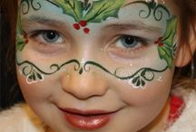 Christmas Face Painting
