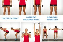 exercises with dumbells