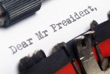 Dear Mr. President / by Tiffani Nailon