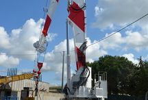 M1600/EL / The Sormec offshore knuckle boom crane M1600/EL lifts 26t at 33m outreach, is designed according Russian Regulations and made to work at -40 degrees.