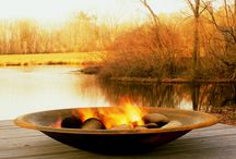 let there be fire / fire pit envy.  want.   / by barbara paulsen