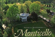 Monticello Virginia / The home of Thomas Jefferson, based on 'The Four Books of Architecture' by Palladio. Other  buildings also in Virginia, and other homes of American Presidents who lived nearby. / by Wendy Bryce