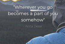 Travel Quotes / Quotes to inspire you to travel and create memories that will last for a life time
